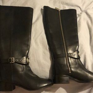 NEW! Michael Kors leather boots!